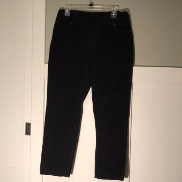 5d5e8b1d54a2e7 Coldwater Creek Pants | Black Corduroy 12p | Poshmark